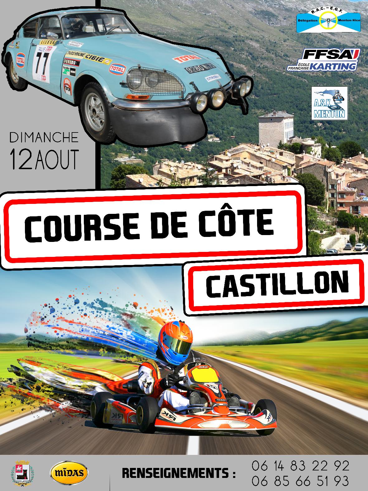 Affiche course de cote R