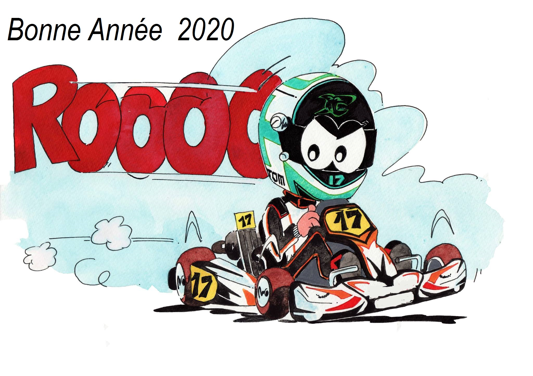 kart bonne année 2020